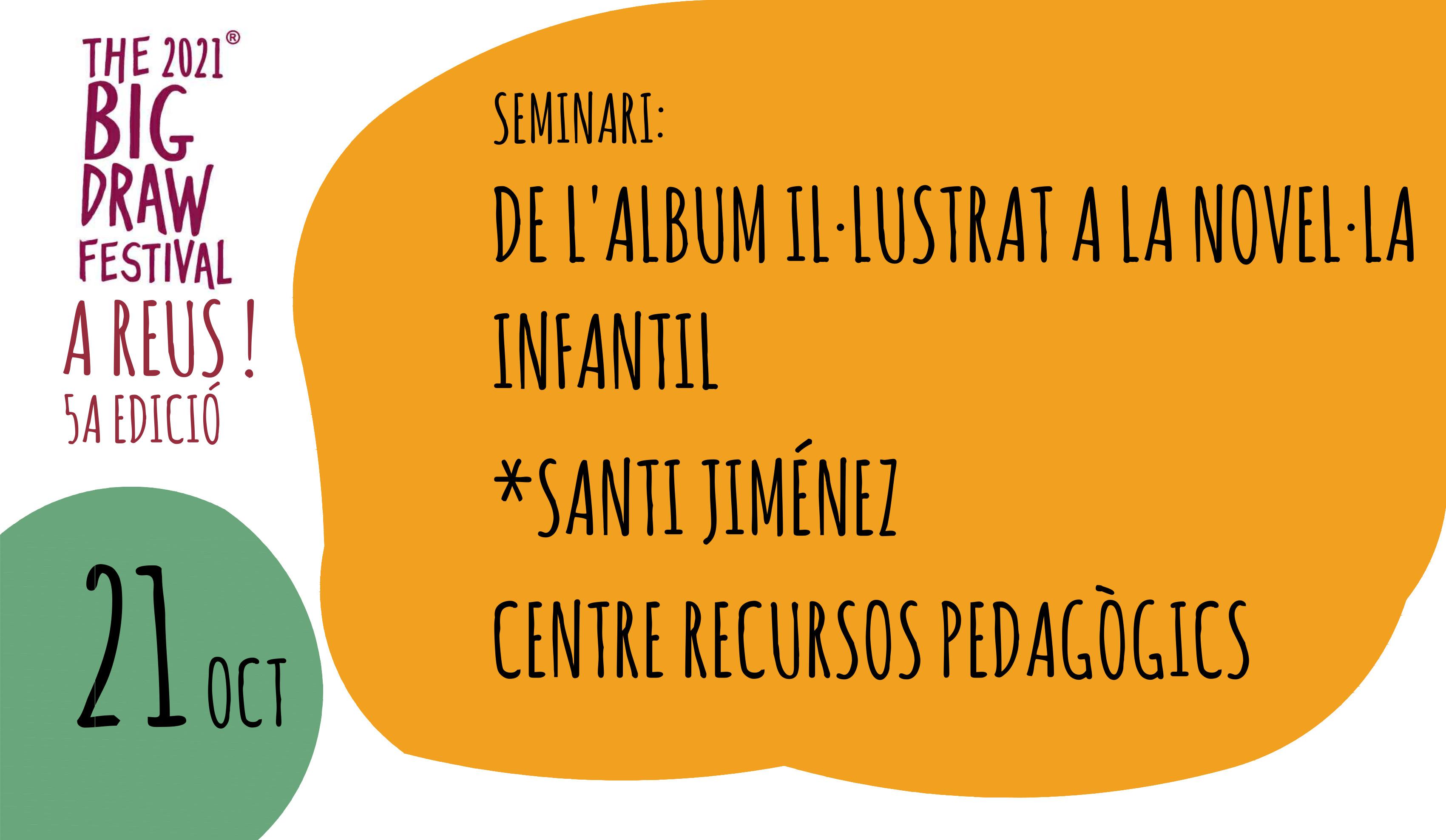Imatge de l'agenda Seminari Àlbum il·lustrat a la novel·la per a joves