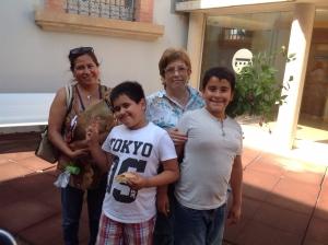 Una família LECXIT amb la mentora